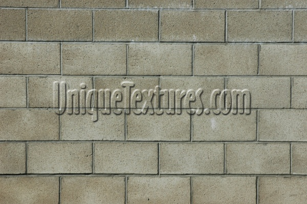 fence rectangular pattern architectural brick tan/beige