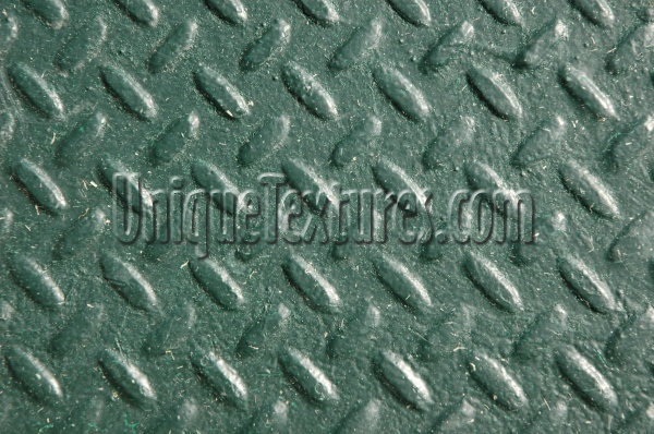 manhole diamonds pattern industrial metal green