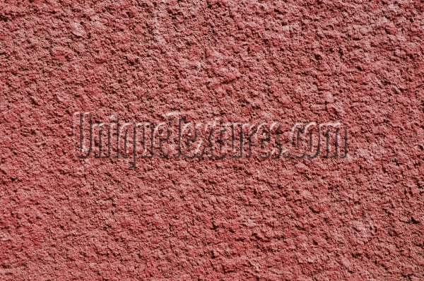 wall rough architectural stucco/plaster red