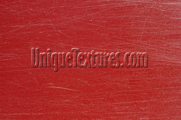 horizontal scratched industrial plastic red