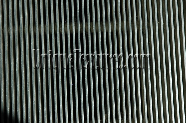 vent/drain vertical pattern industrial metal multicolored metallic gray