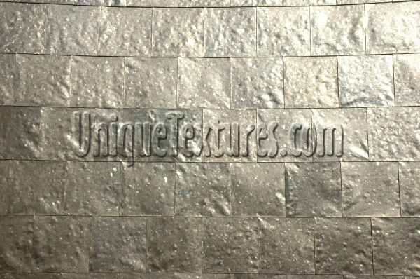 wall square shiny galvanized industrial metal metallic