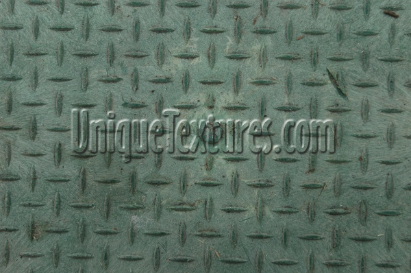 manhole diamonds pattern industrial plastic green