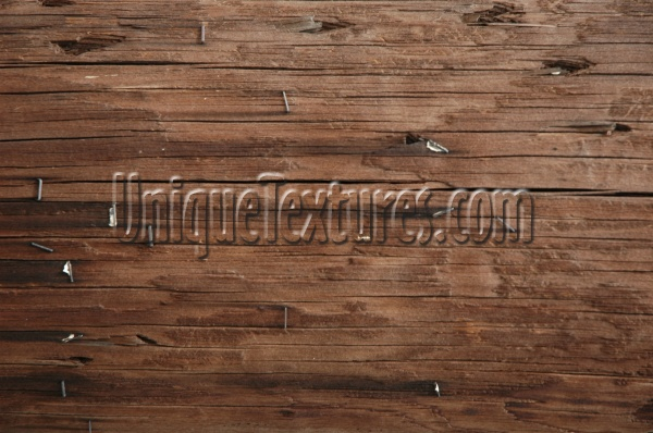 cracked/chipped industrial wood dark brown