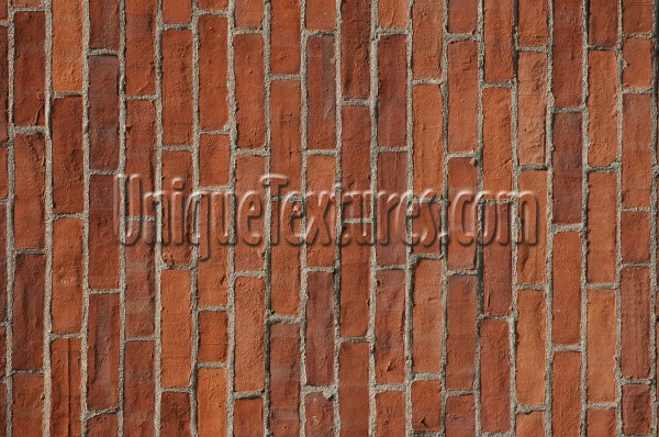 fence rectangular    architectural brick red