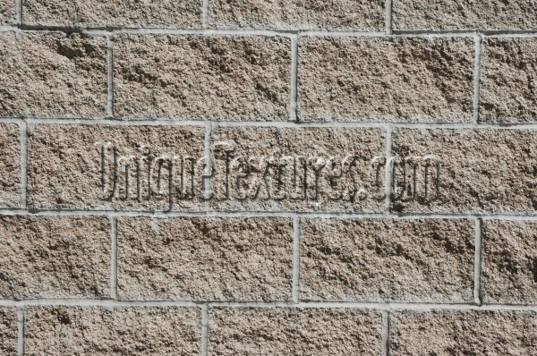 fence rectangular architectural brick tan/beige