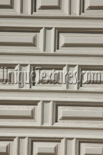 door rectangular pattern architectural wood paint white