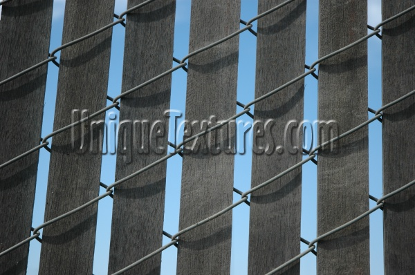 slats fence pattern architectural wood gray
