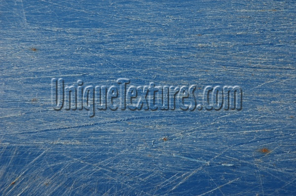 horizontal scratched marine plastic blue