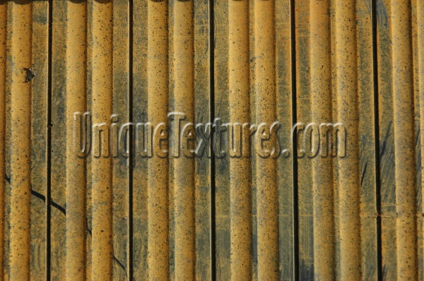 grooved dirty marine fiberglass yellow vertical