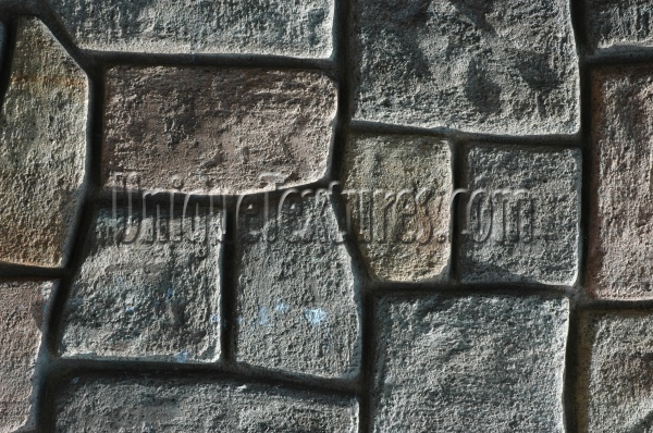 wall random fake architectural stone gray