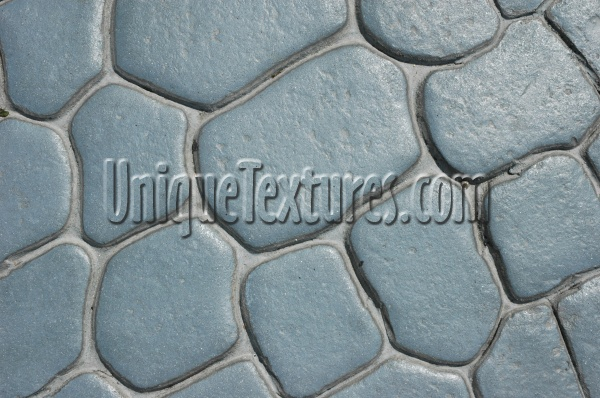 floor curves fake architectural stone gray