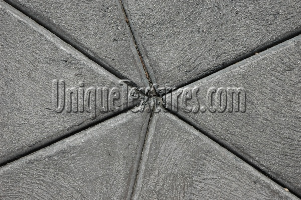 floor angled grooved architectural concrete gray
