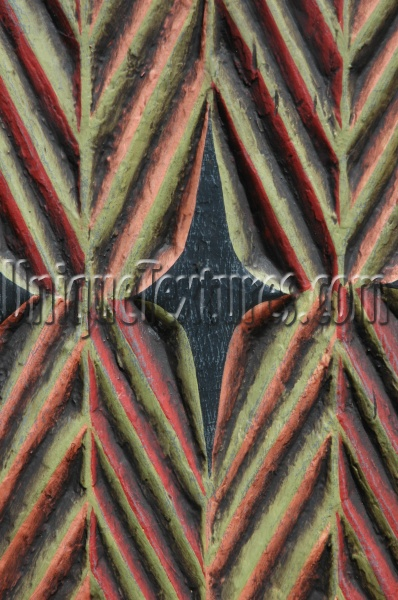 furniture angled pattern grooved art/design wood multicolored
