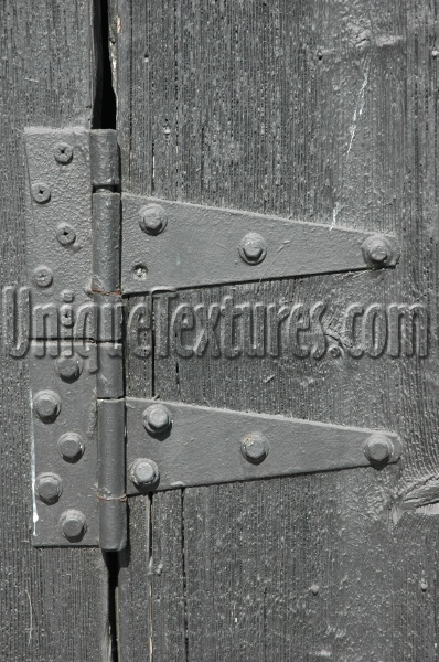 black metal wood architectural weathered fastener fence door
