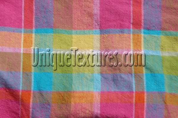 rectangular pattern industrial fabric vibrant multicolored