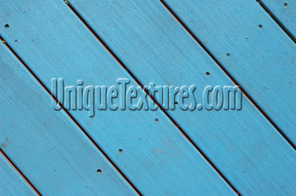 blue wood architectural grooved angled floor boards