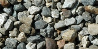 gravel floor random rough industrial architectural natural stone gray