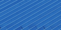 roof angled oblique pattern architectural metal paint blue