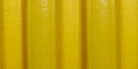 curves industrial plastic yellow