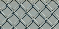 fence diamonds pattern architectural metal gray