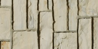 wall rectangular architectural brick stone tan/beige