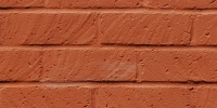 wall rectangular architectural brick paint red