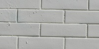 wall rectangular architectural brick paint white