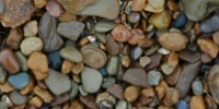 floor spots wet natural stone multicolored gravel