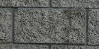 fence rectangular architectural stone gray