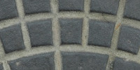 manhole pattern grooved industrial metal gray