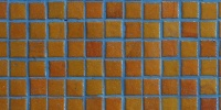 square architectural tile/ceramic orange/peach