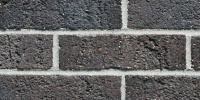 wall rectangular    architectural brick black