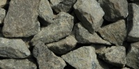 gravel floor rough natural stone gray