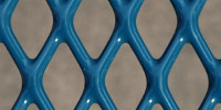 pattern industrial   metal blue