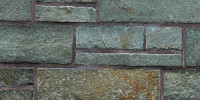wall rectangular architectural brick   stone gray