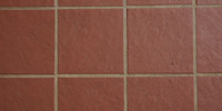 square architectural  tile/ceramic dark brown