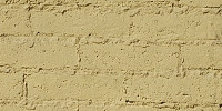 wall rectangular architectural    brick paint yellow
