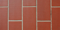 floor rectangular architectural tile/ceramic red