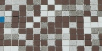 wall square spots retro    architectural tile/ceramic multicolored