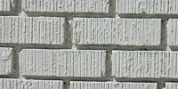 wall rectangular architectural brick white