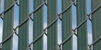 slats fence pattern industrial plastic gray