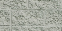 fence rectangular architectural brick stone white