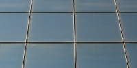 window square oblique architectural glass black