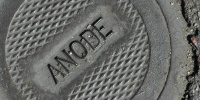 door manhole diamonds pattern textual industrial metal gray