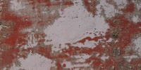 random scratched marine fiberglass paint white red