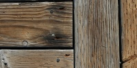 boards floor weathered marine wood  dark brown