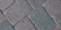 floor angled pattern architectural brick gray