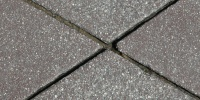 floor angled grooved industrial concrete gray