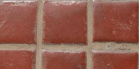 floor square shiny architectural tile/ceramic red